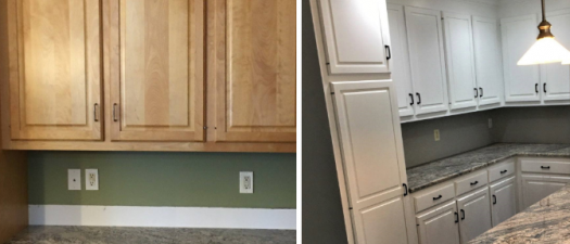 Kitchen Cabinet Painting: See the Transformation!
